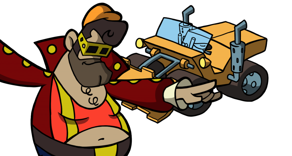 BT Bruno and his Bulldozer