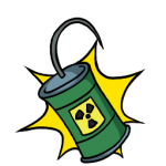 Nuclear Mine Icon