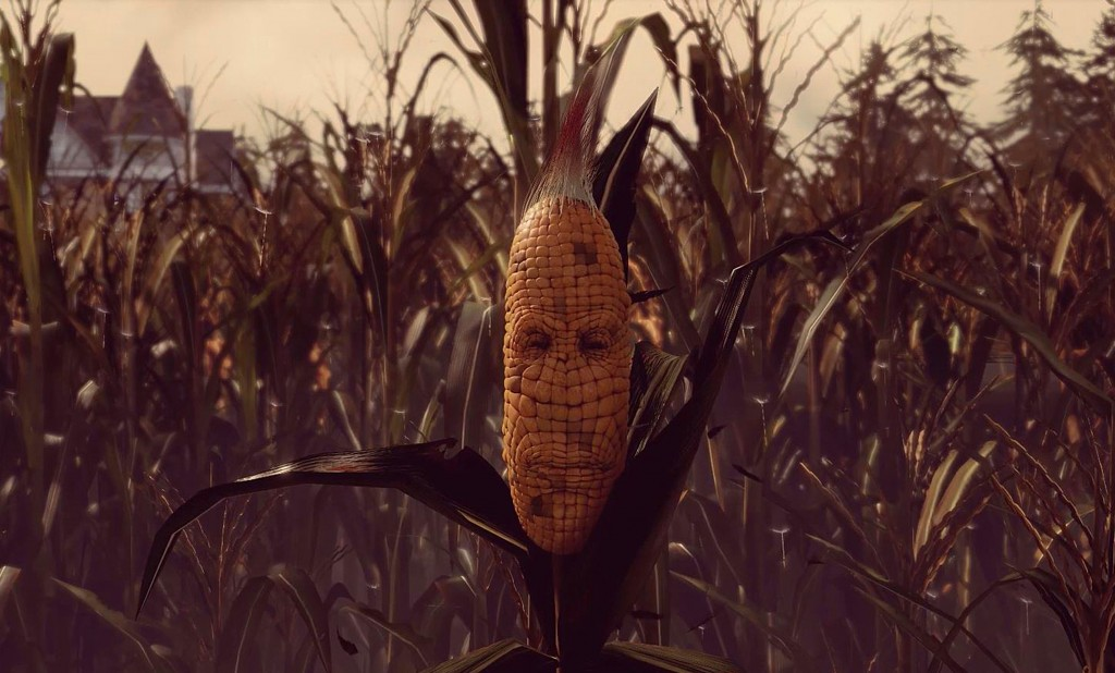 Yes, that is a sentient corn stalk